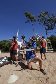 activites sport nature en vendee, michel arnaud archery tag