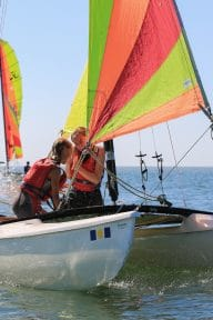 Activités nautiques-voile-catamaran vendee