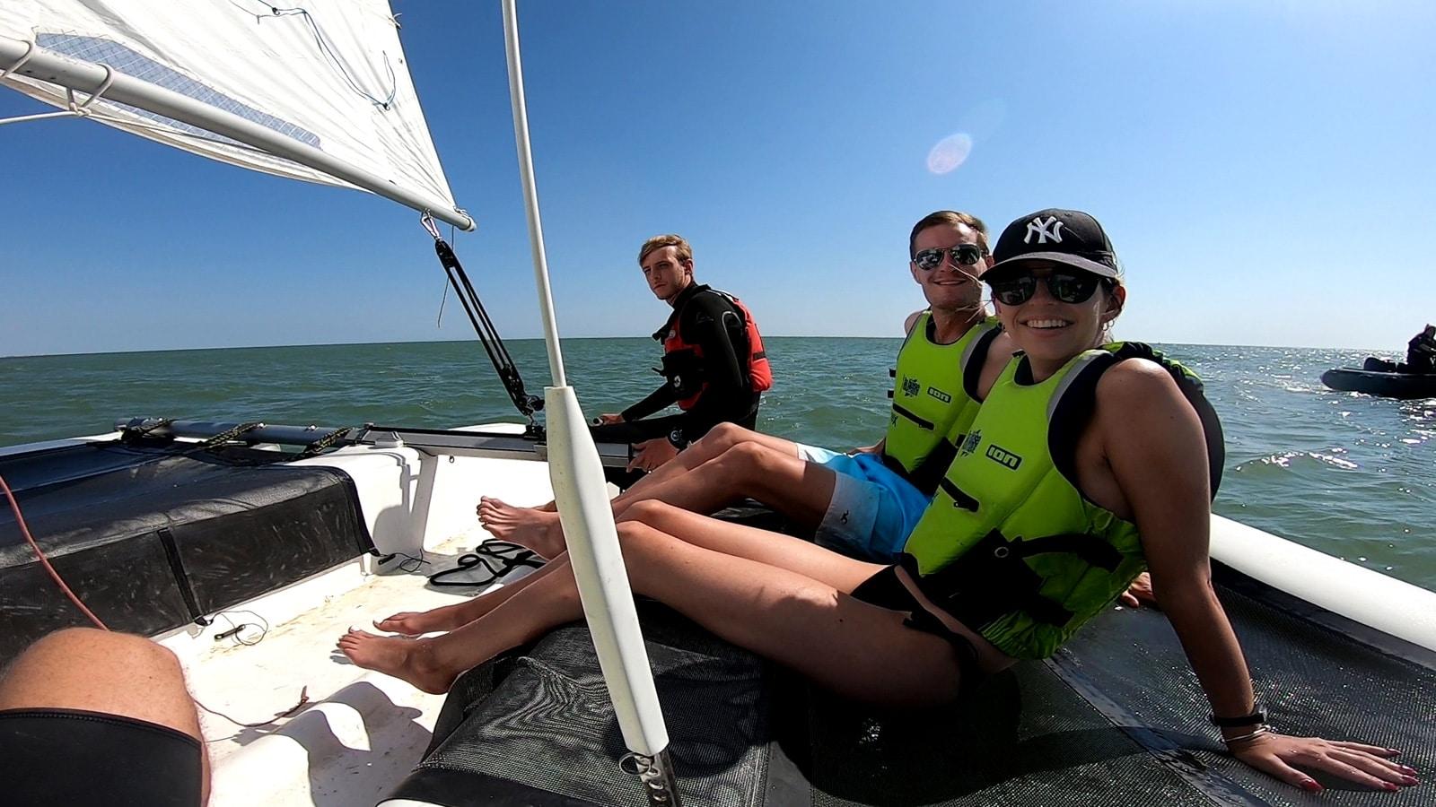 activites nautiques en vendee catamaran