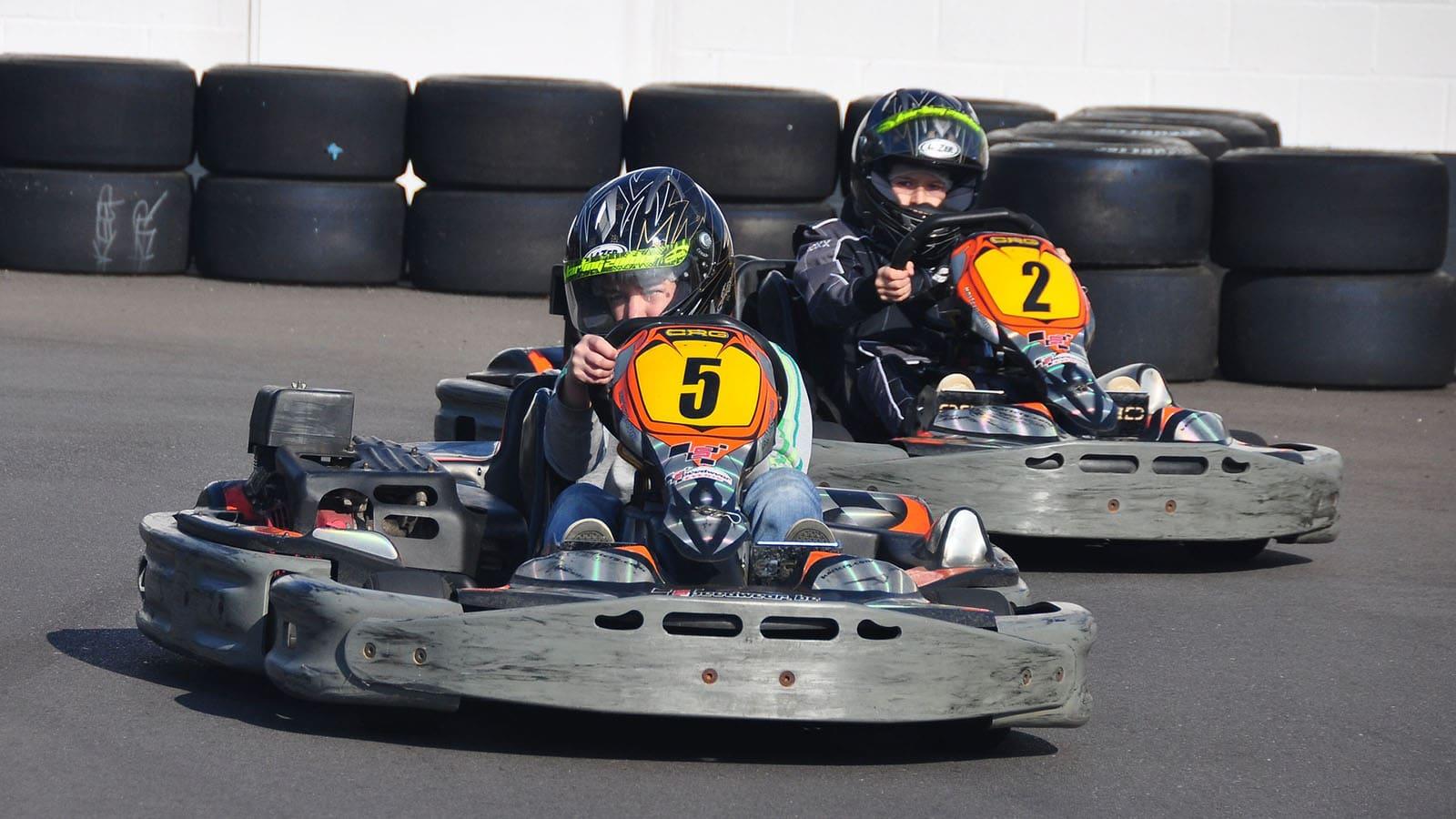 Activités sports nature en vendée karting