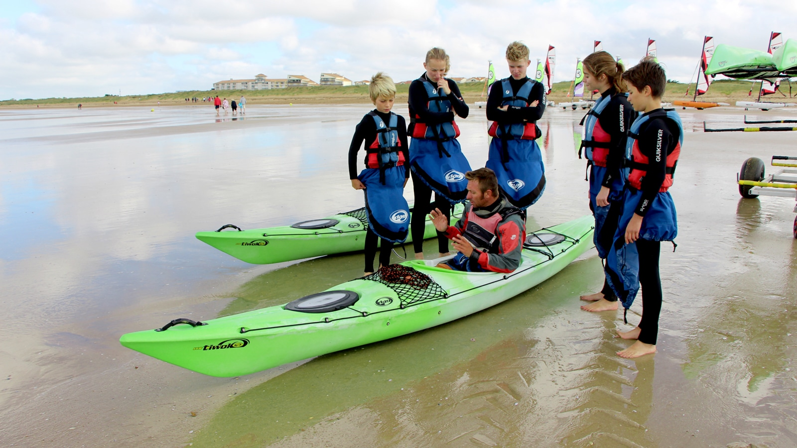 sport de glisse en vendee-kayak