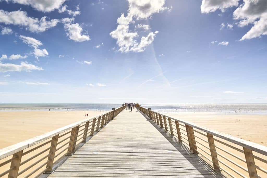 Pays-de-saint-jean-de-monts vendee-the pier @alamoureux