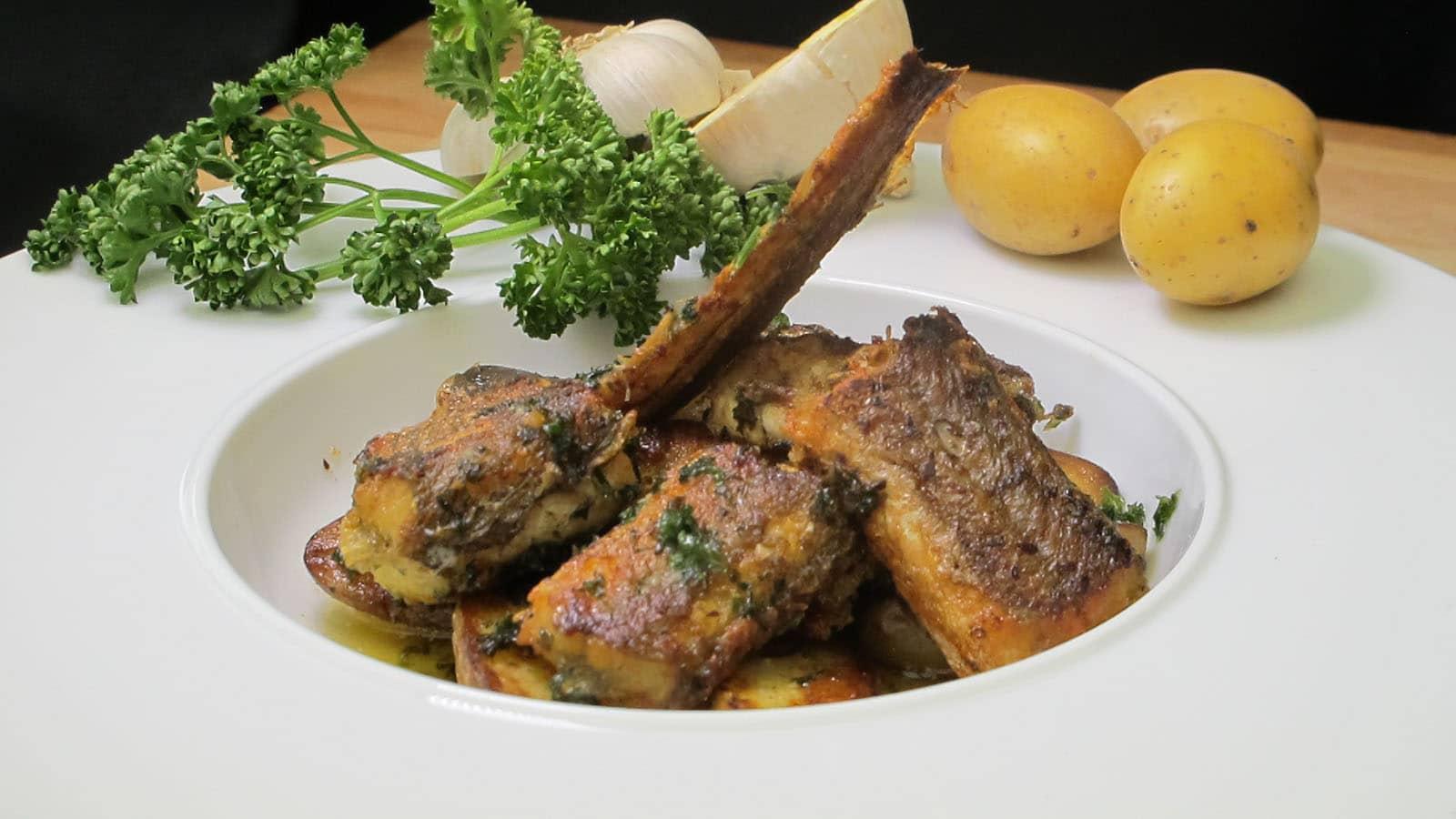 les anguilles de Chez Bastien - D.Mougel-cuisine-montoise-stjeandemonts