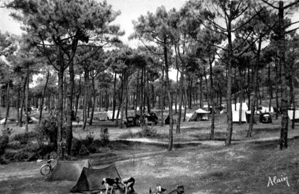 camping Saint Jean de Monts - entre 1960 et 1969 - Editeur Alain - Propriétaire AVERTY P. - Colll OPCI AREXCPO (Personnalisé)