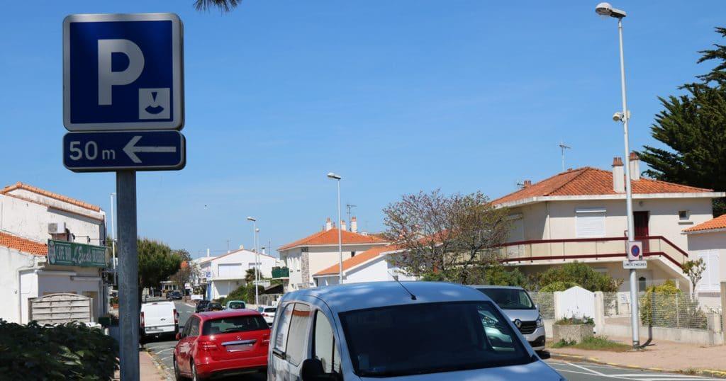 stationnement -fromentine - disque bleu